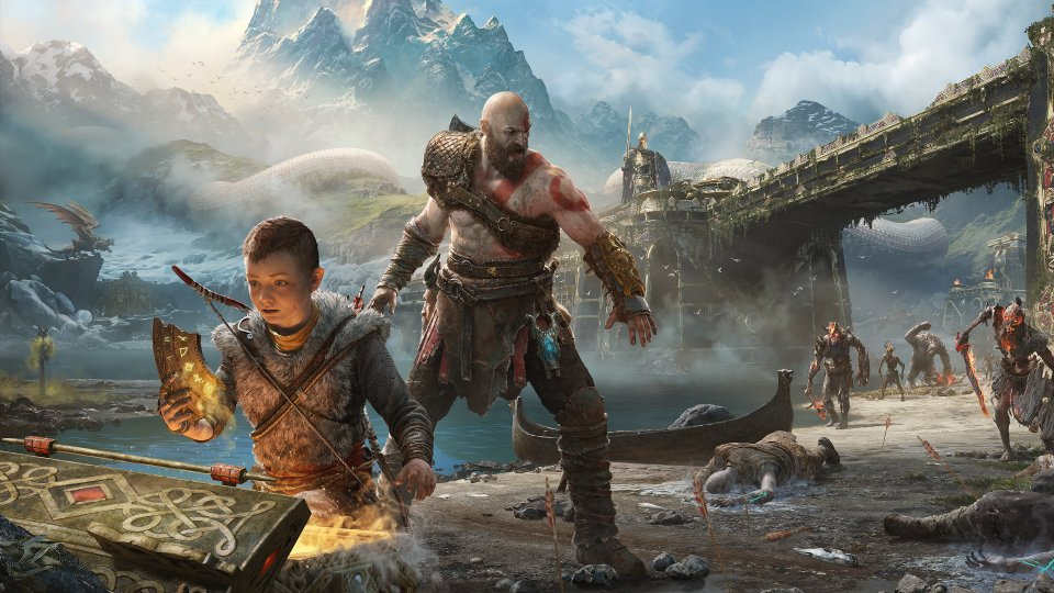 god of war 4 wallpaper2