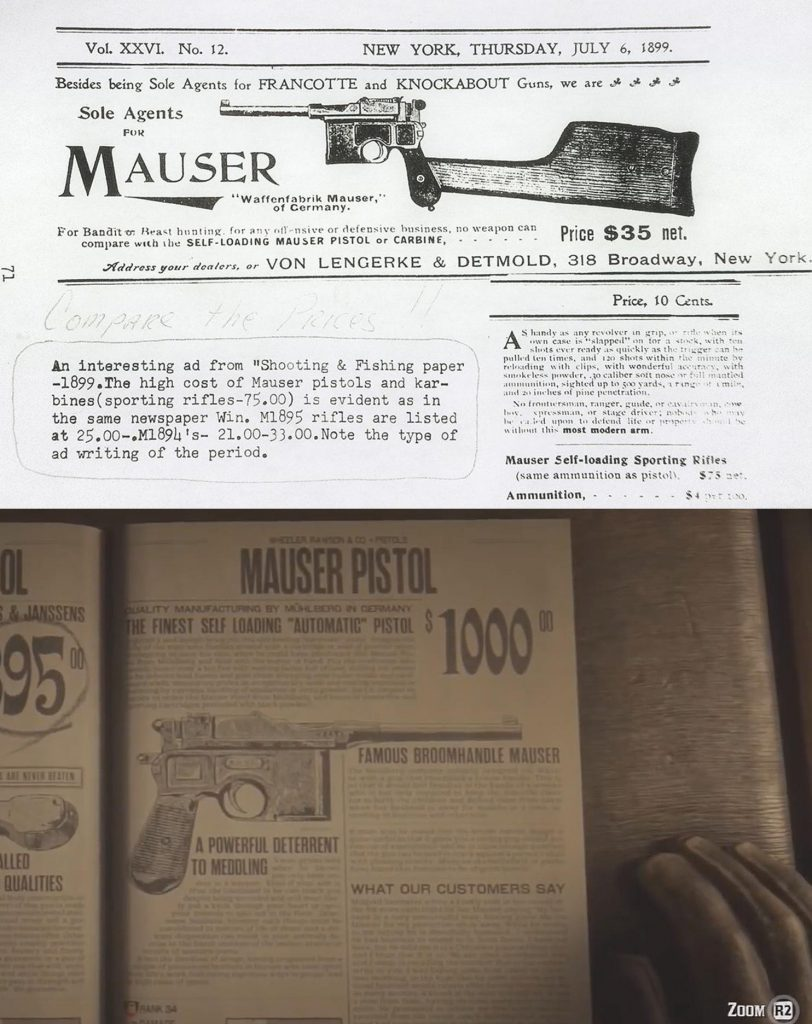 Red Dead Online Mauser