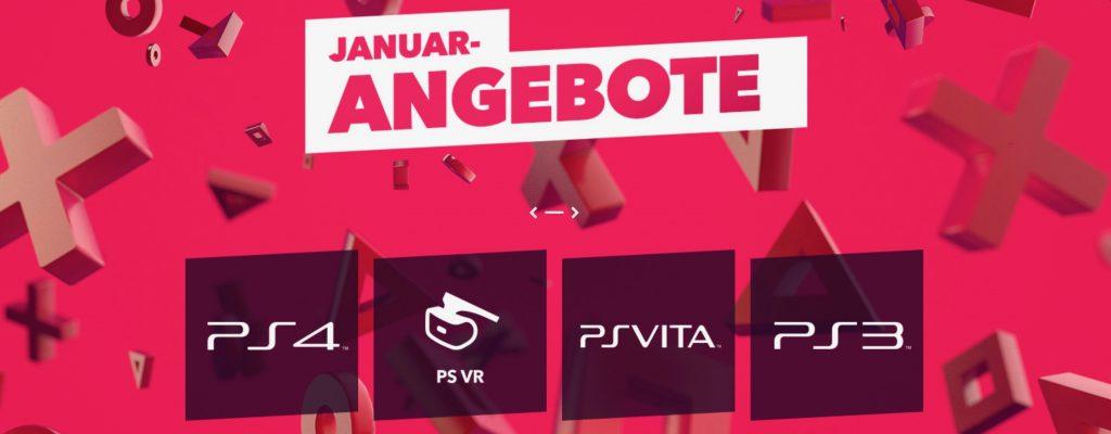 Januar Angebote – PSN Store startet Riesen-Sale mit über 1500 Spielen