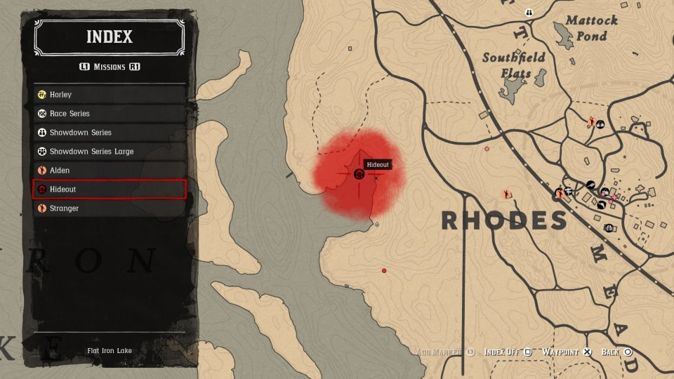 red dead online clemens point