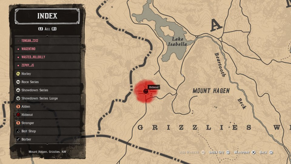 red dead online ewing basin
