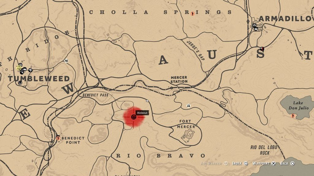 red dead online fort mercer