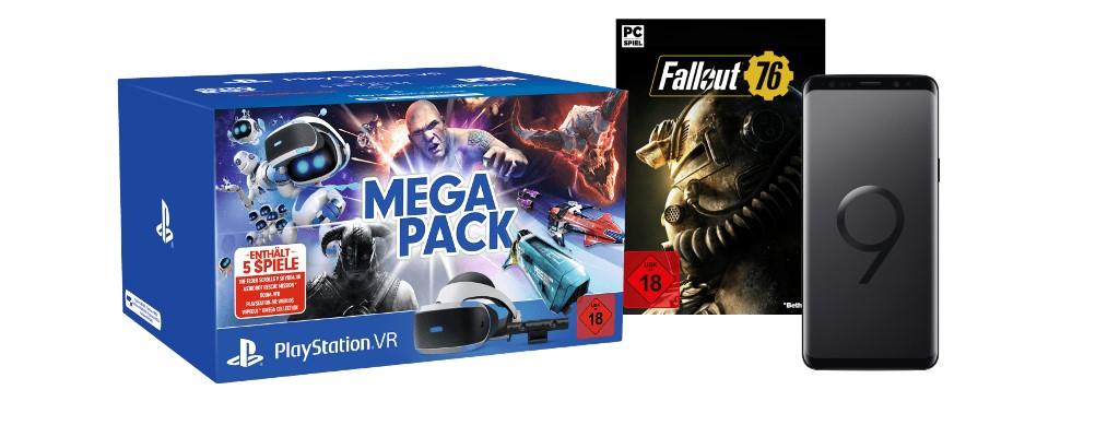 Saturn: PSVR mit 5 Games für 233€, Fallout 76 für 30€ & Galaxy S9 für 499€