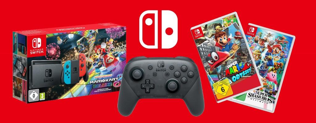Die besten Nintendo Switch-Angebote zur Weihnachtszeit
