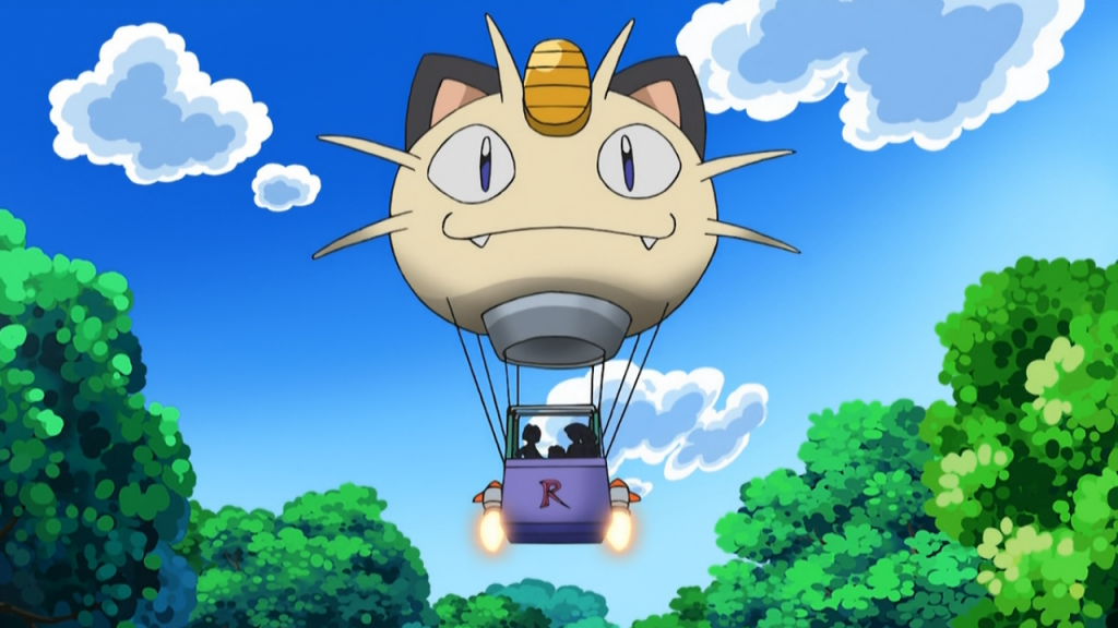 team Rocket Ballon