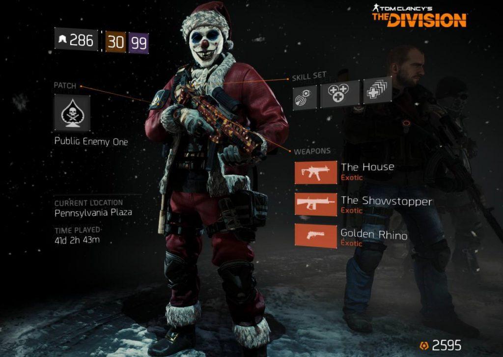 the division santa