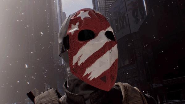 the division stripes maske