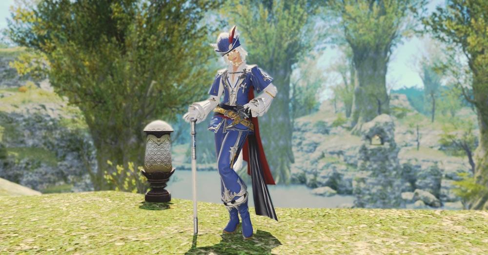 final fantasy xiv blaumagier starteroutfit