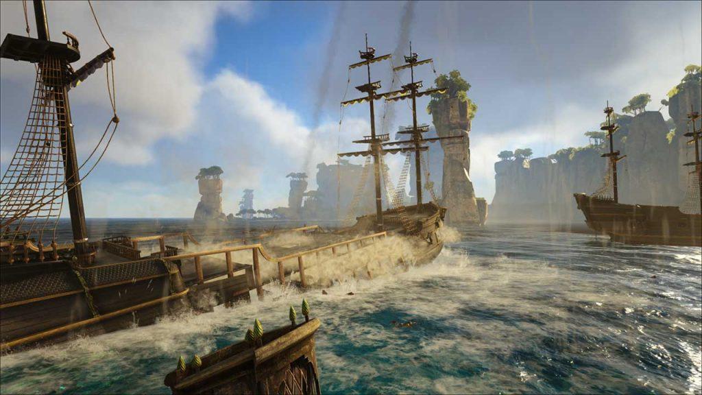 Schiffswrack in Atlas