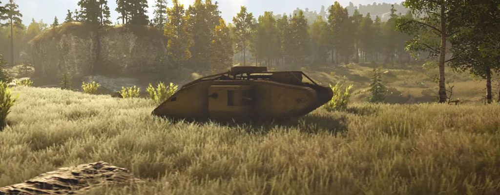 So kamen Panzer aus dem Ersten Weltkrieg ins Piraten-MMO Atlas