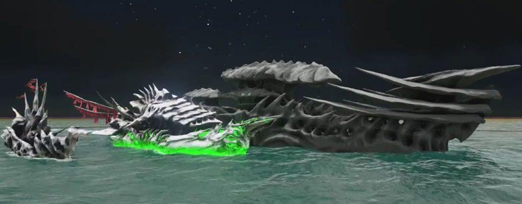 Geisterschiffe erobern das Meer in Atlas