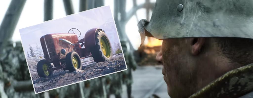 Battlefield 5: Neuer Trailer zeigt Waffen, aber Fans feiern einen Traktor