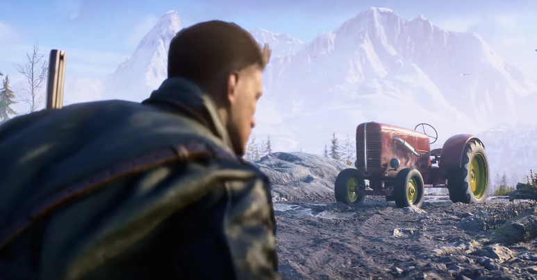 Battlefield 5 Traktor