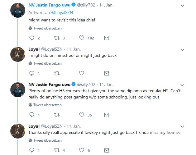 Call of Duty Loyal Tweet 2