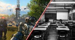 Call of Duty anstatt Schule