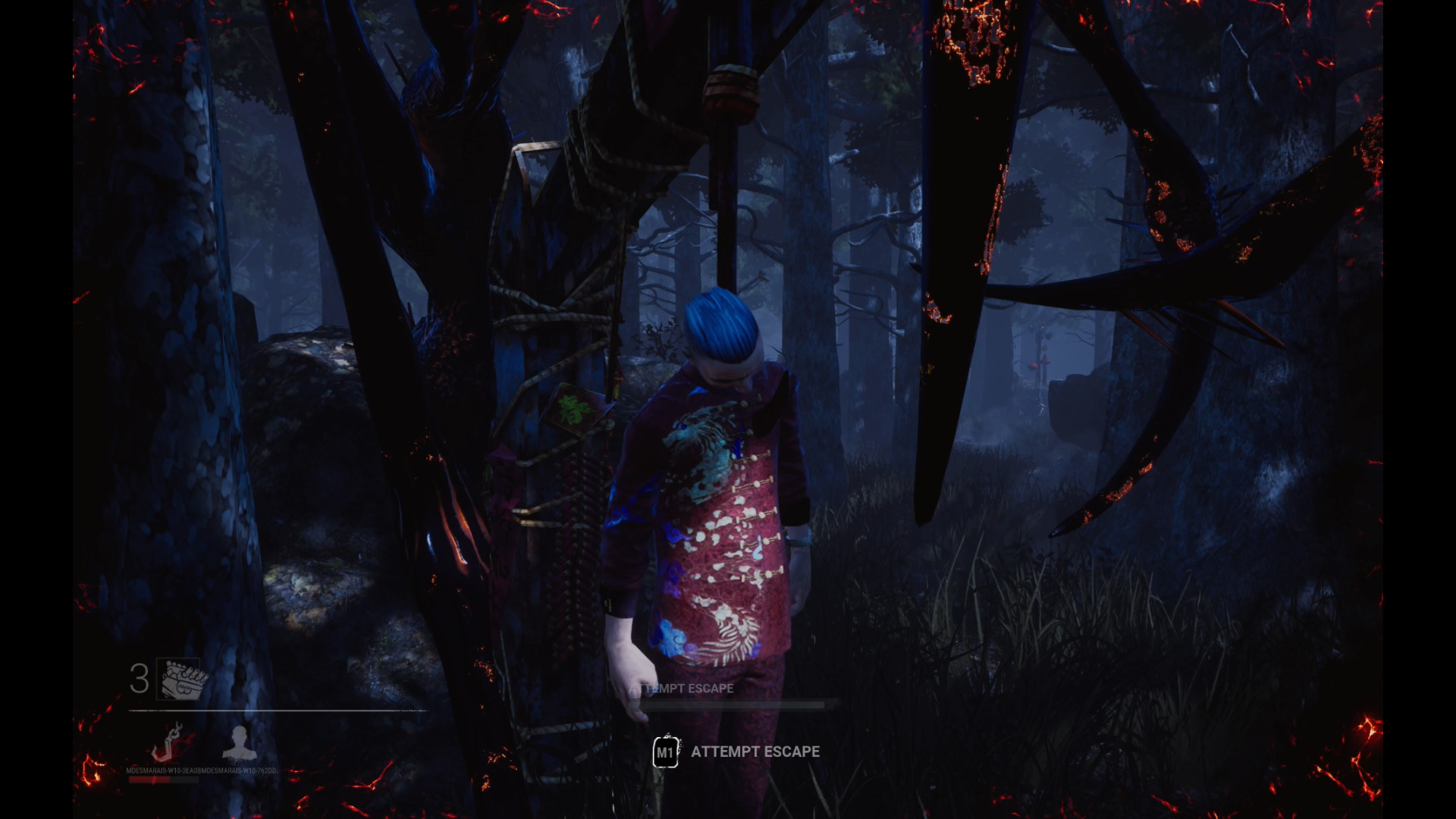 Dead by Daylight Lunar Vessel Ace Hanging
