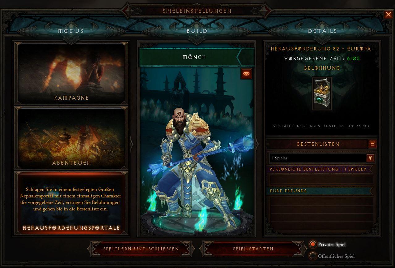 Diablo 3: Season 16 Level Guide - So erreicht Ihr schnell Level 70