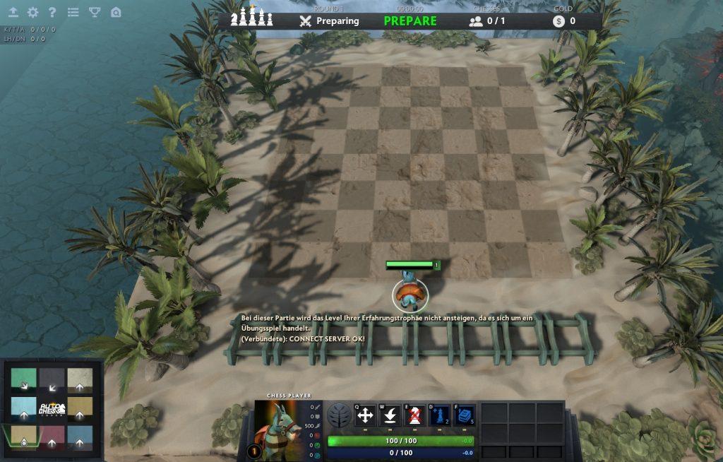 Dota 2 Auto Chess vorbereitung