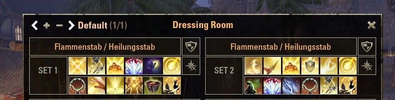 ESO Dressing Room