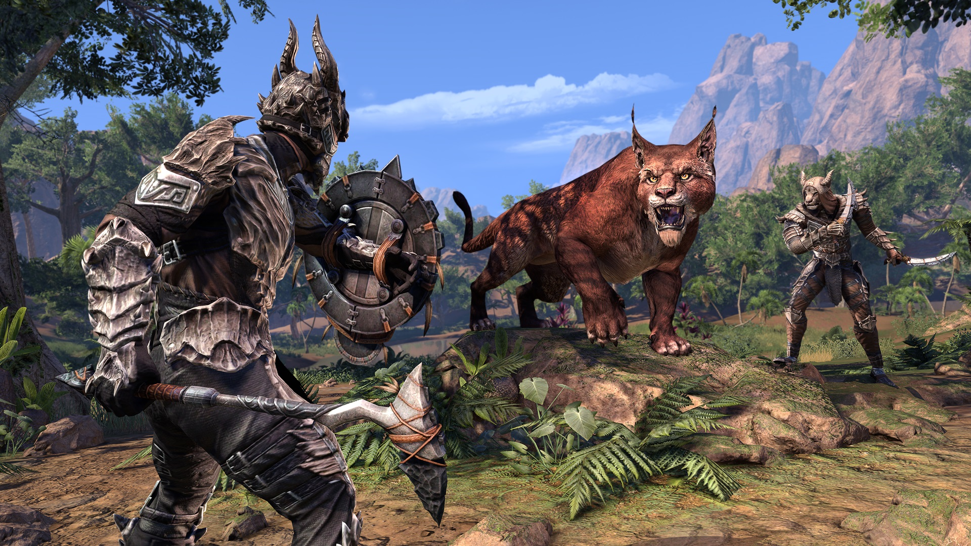 ESO Elsweyr Combat_FightingAMonster