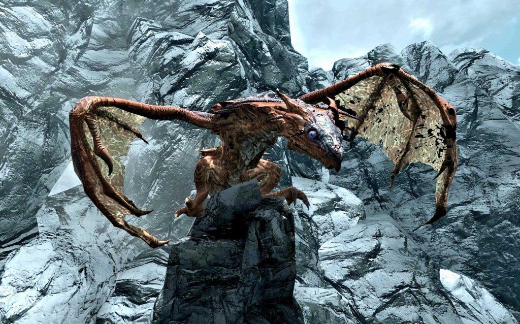 Elder Scrolls Online Skyrim Drache