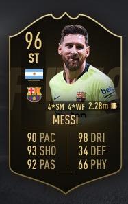 FIFA 19 Inform Messi