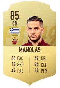 FIFA 19 Manolas