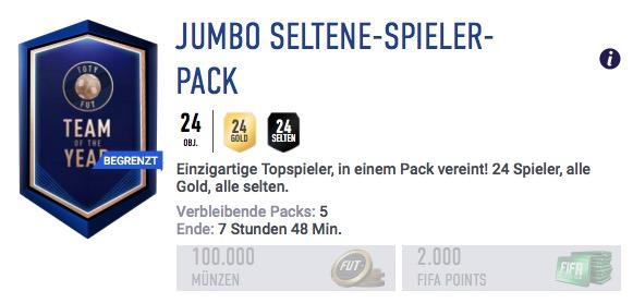 FIFA 19 Packs TOTY