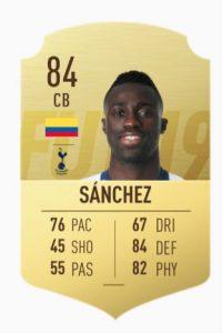 FIFA 19 Sanchez