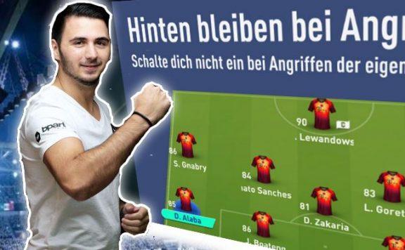 FIFA 19 individuelle Taktik