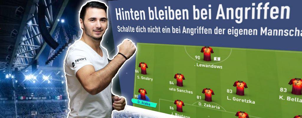FIFA 19: Diese Taktik empfiehlt einer der besten Spieler in Deutschland für FUT