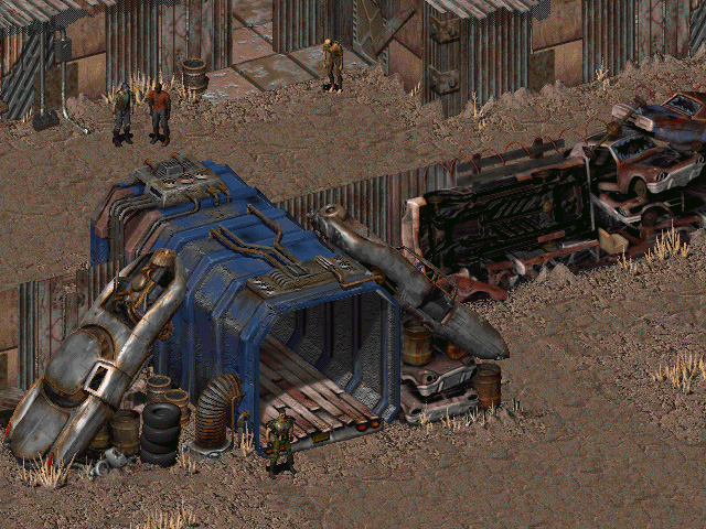 Fallout 1 Screenshot