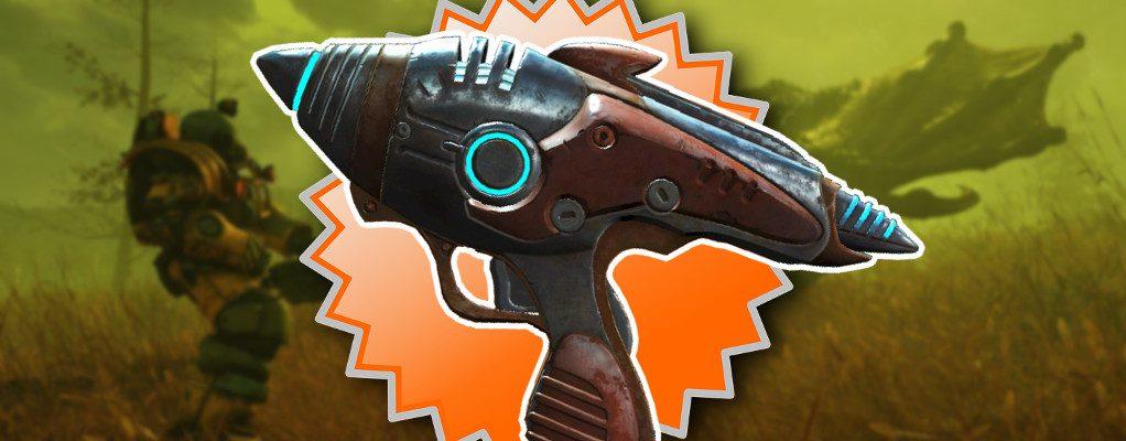 Fallout 76: Fundort des Alien Blasters – So findet Ihr die verrückte Waffe