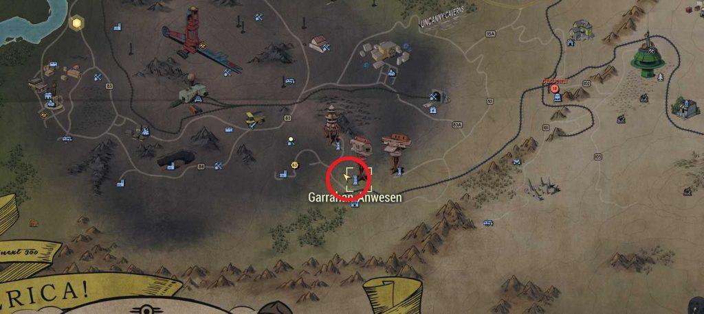 Fallout 76 Ausblick Ash heap