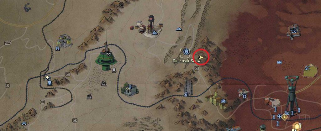 Fallout 76 Ausblick Cranberry Bog