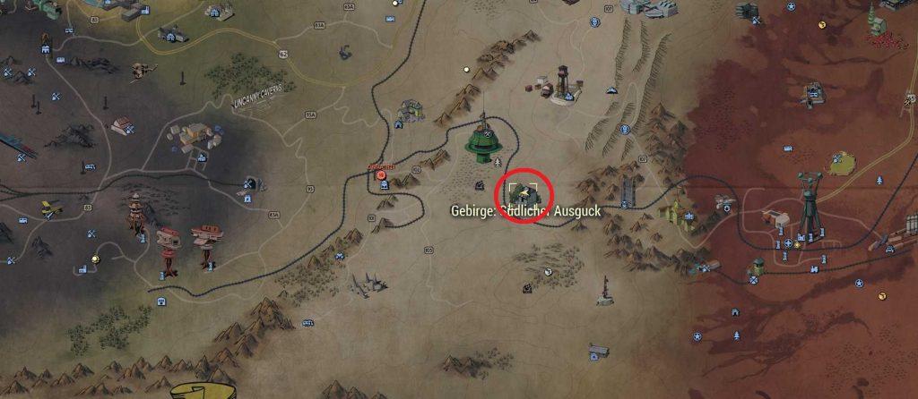 Fallout 76 Ausblick Knob See