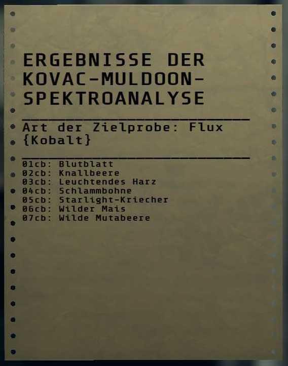 Fallout 76 Flux Kobalt