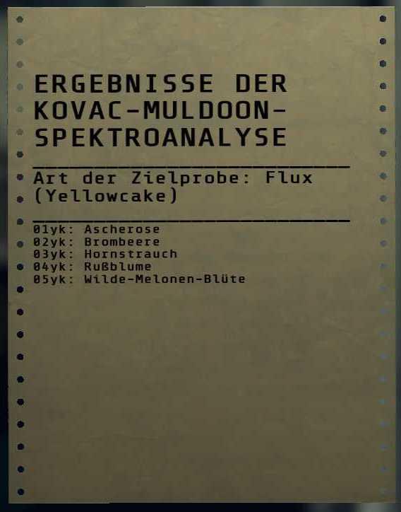 Fallout 76 Flux Yellowcake