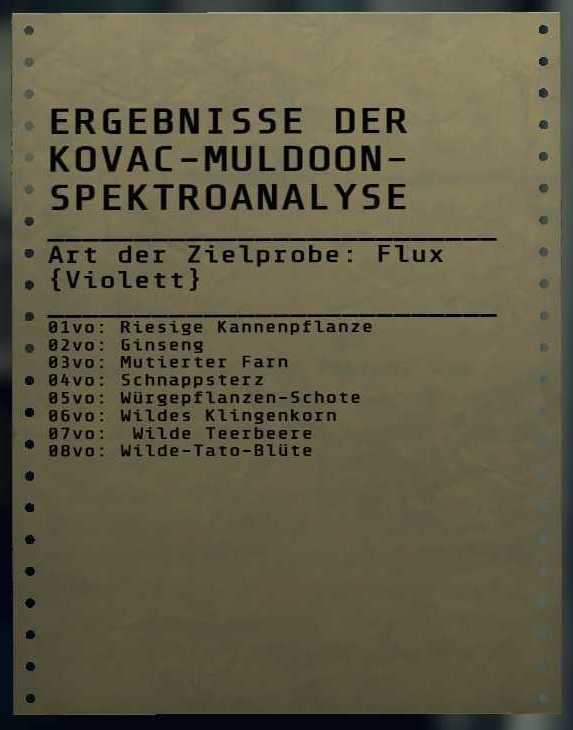 Fallout 76 Flux violett