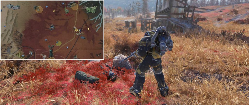 Fallout 76 Nuka Cola Rüstung Ort 1