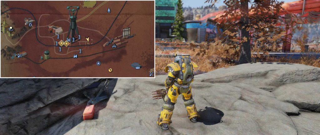 Fallout 76 Nuka Cola Rüstung Ort 2