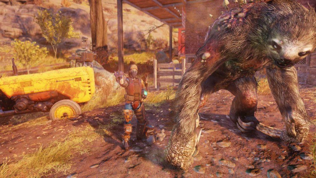 Fallout 76 megasloth foto