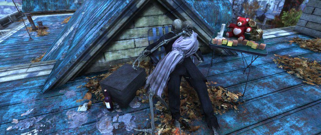 Fallout 76 skelettpärchen hochzeit
