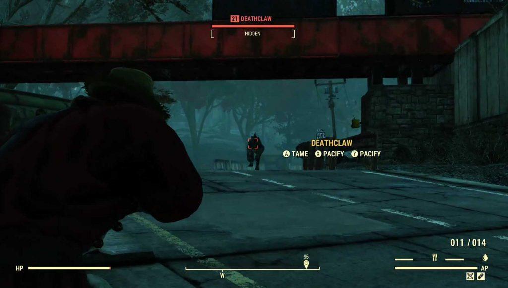 Fallout 76 todeskralle zähmen und beruhigen