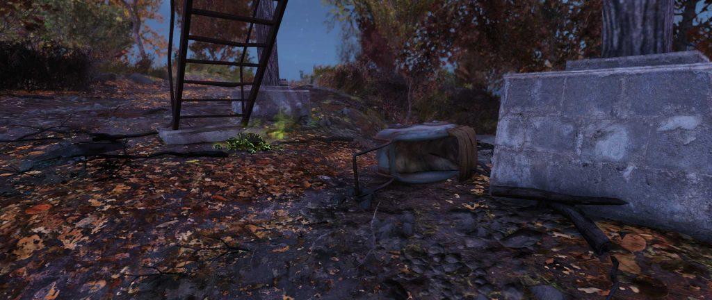 Fallout 76 traurigster Ort Kinderwagen
