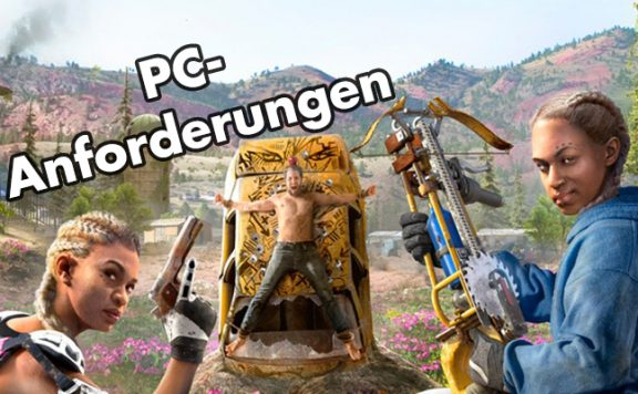Far Cry New Dawn PC Anforderungen Titel