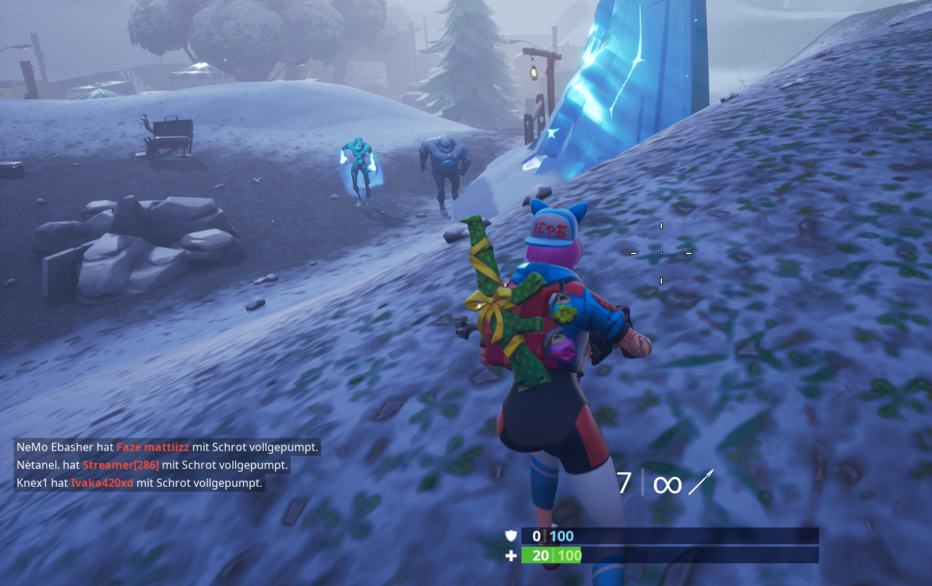 Fortnite Armbrust Zombies