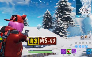 Fortnite Ballon Frosty Flights