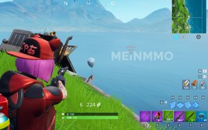 Fortnite Ballon Wailing Woods