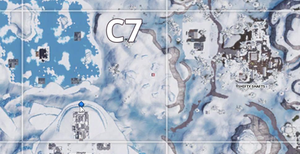 Fortnite C7 Karte